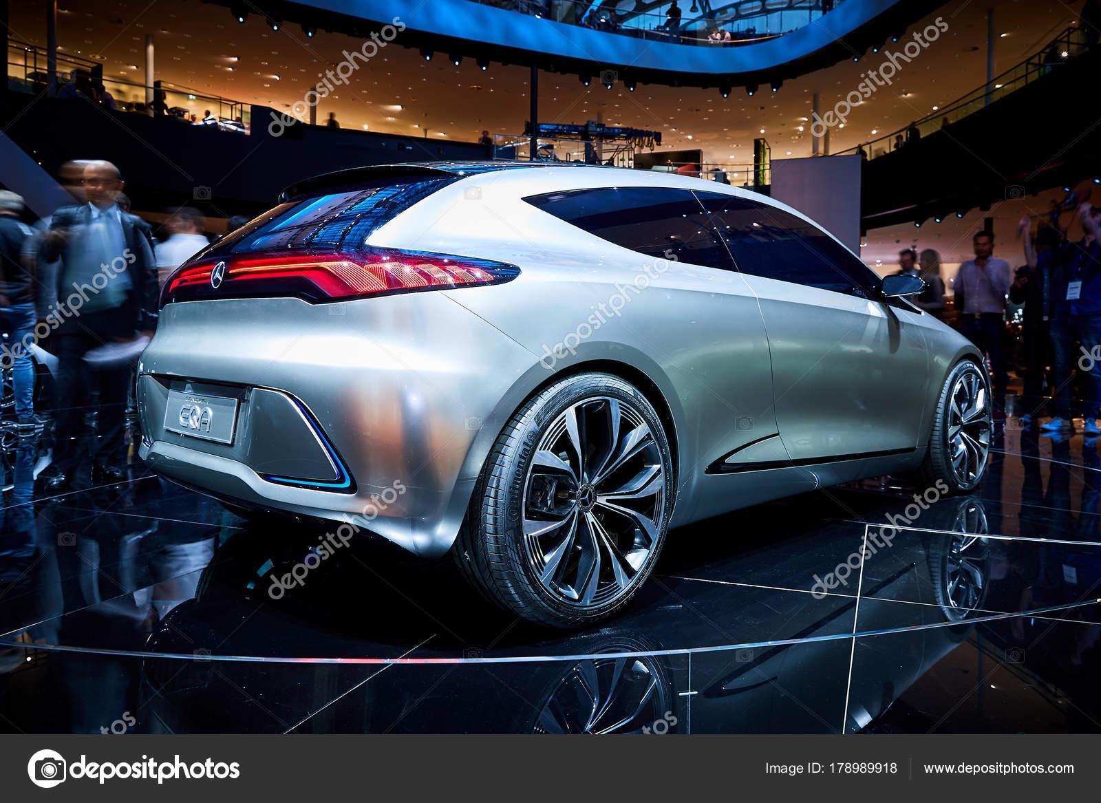 Frankfurt Germany September 2017 2017 Mercedes Benz Eqa Concept ...