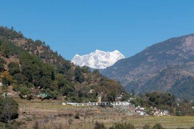 Scenic Landscaoe of Chopta Valley, Uttarakhand