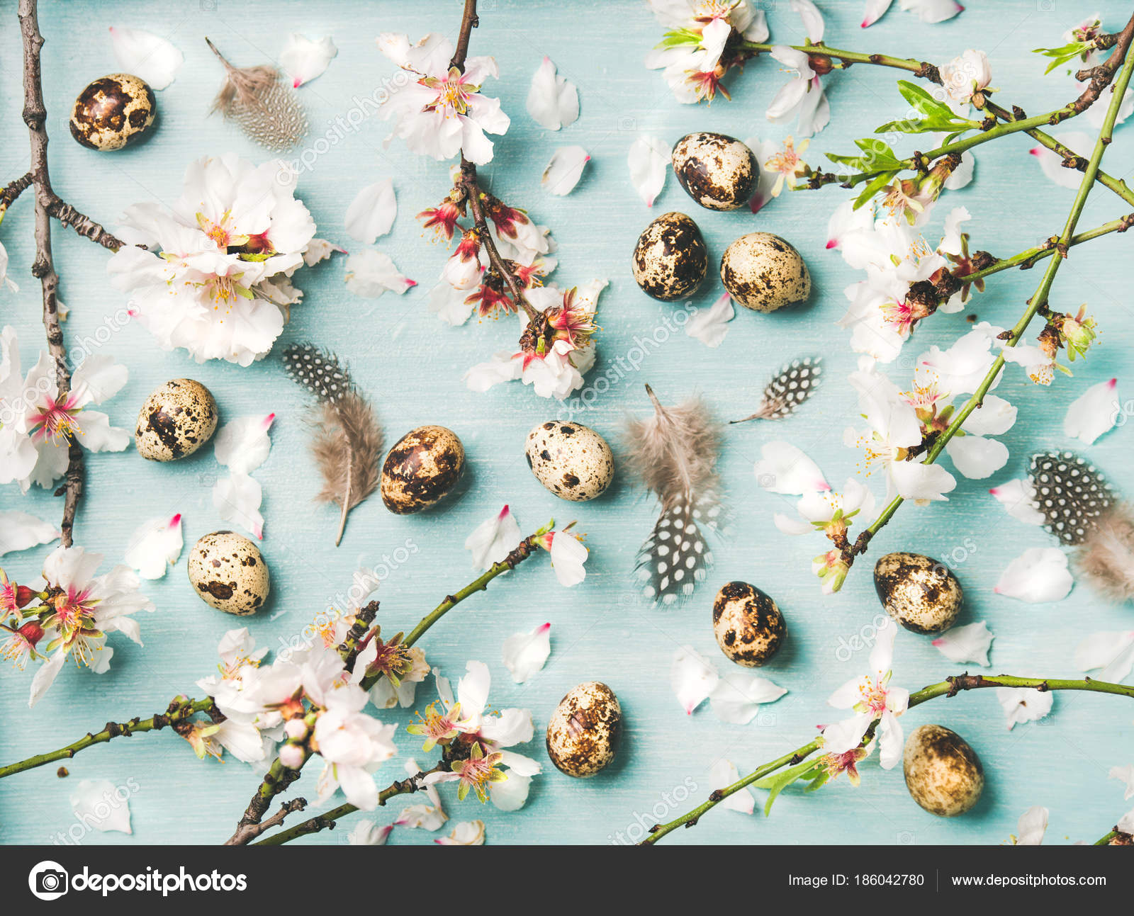 Easter Holiday Background Texture Wallpaper Tender Spring Almond