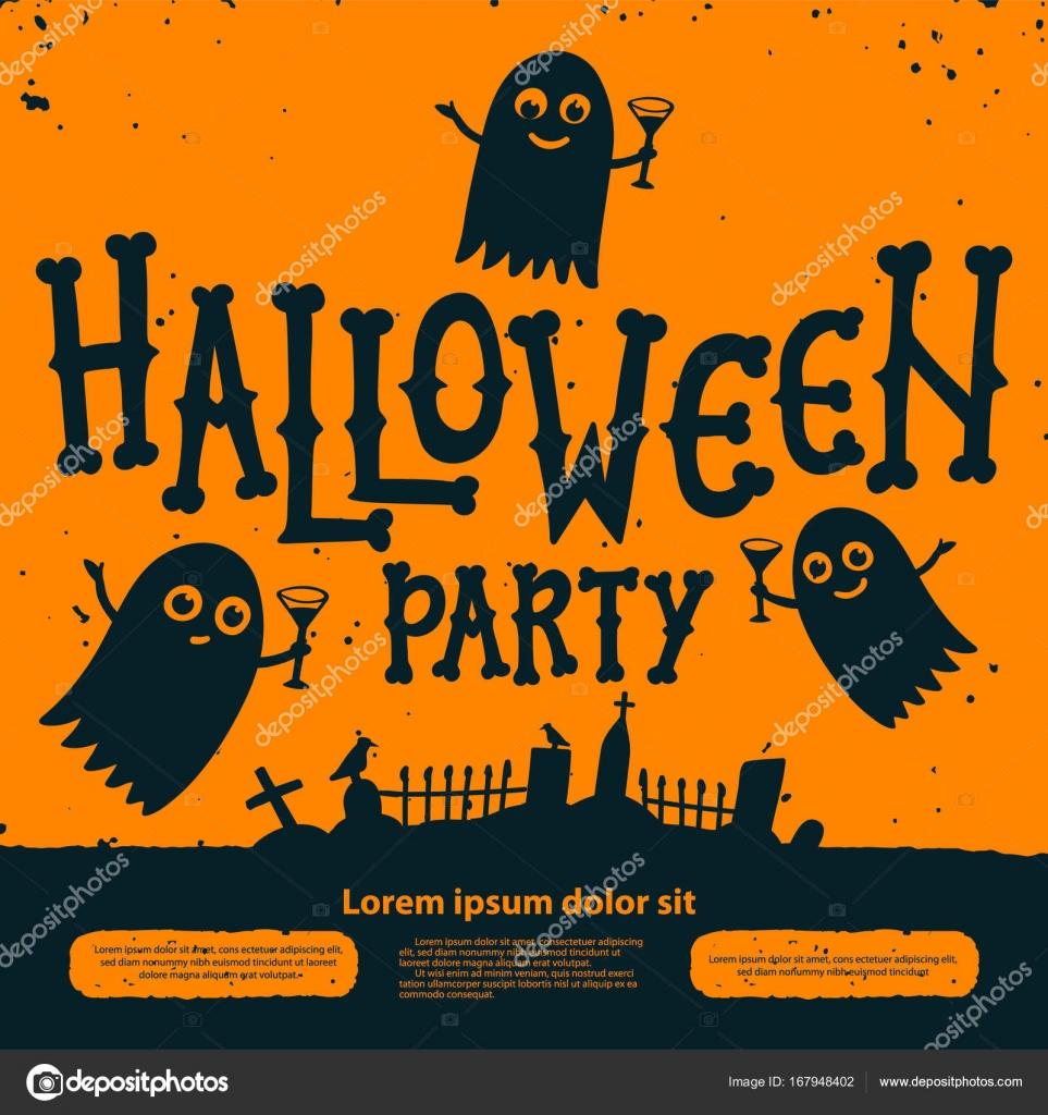 Carte D Invitation De Fete Halloween Halloween Party Invitation