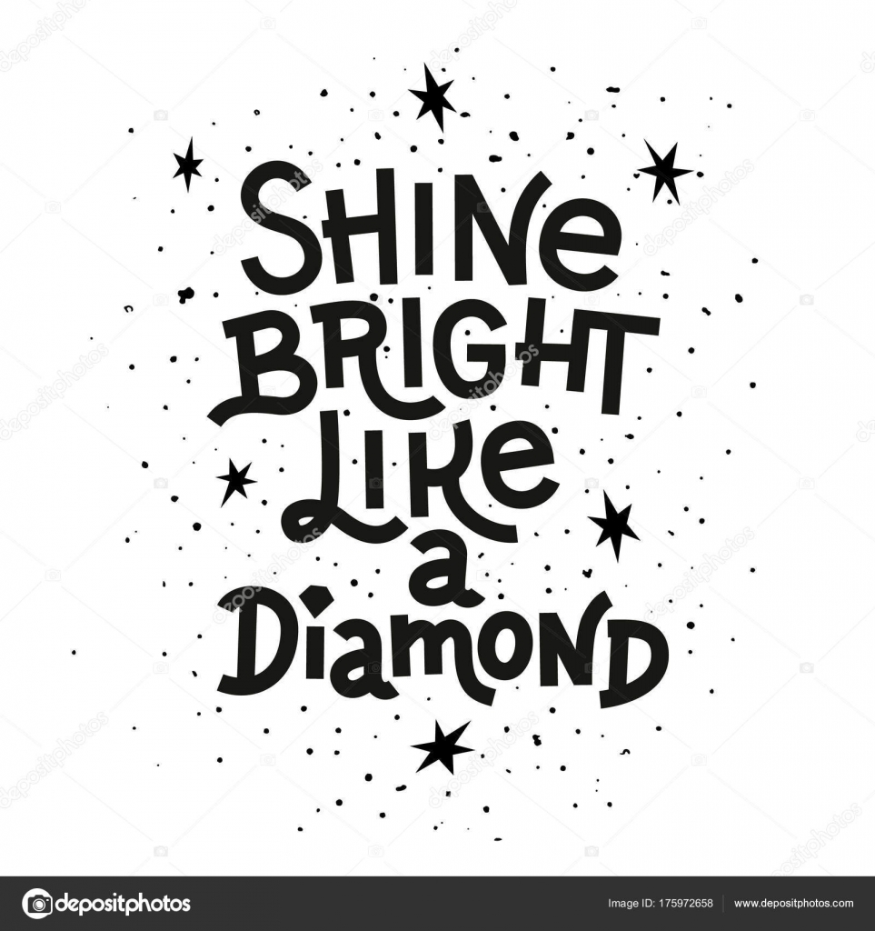 quote shine like t women bright a shirt diamond s spreadshirt by