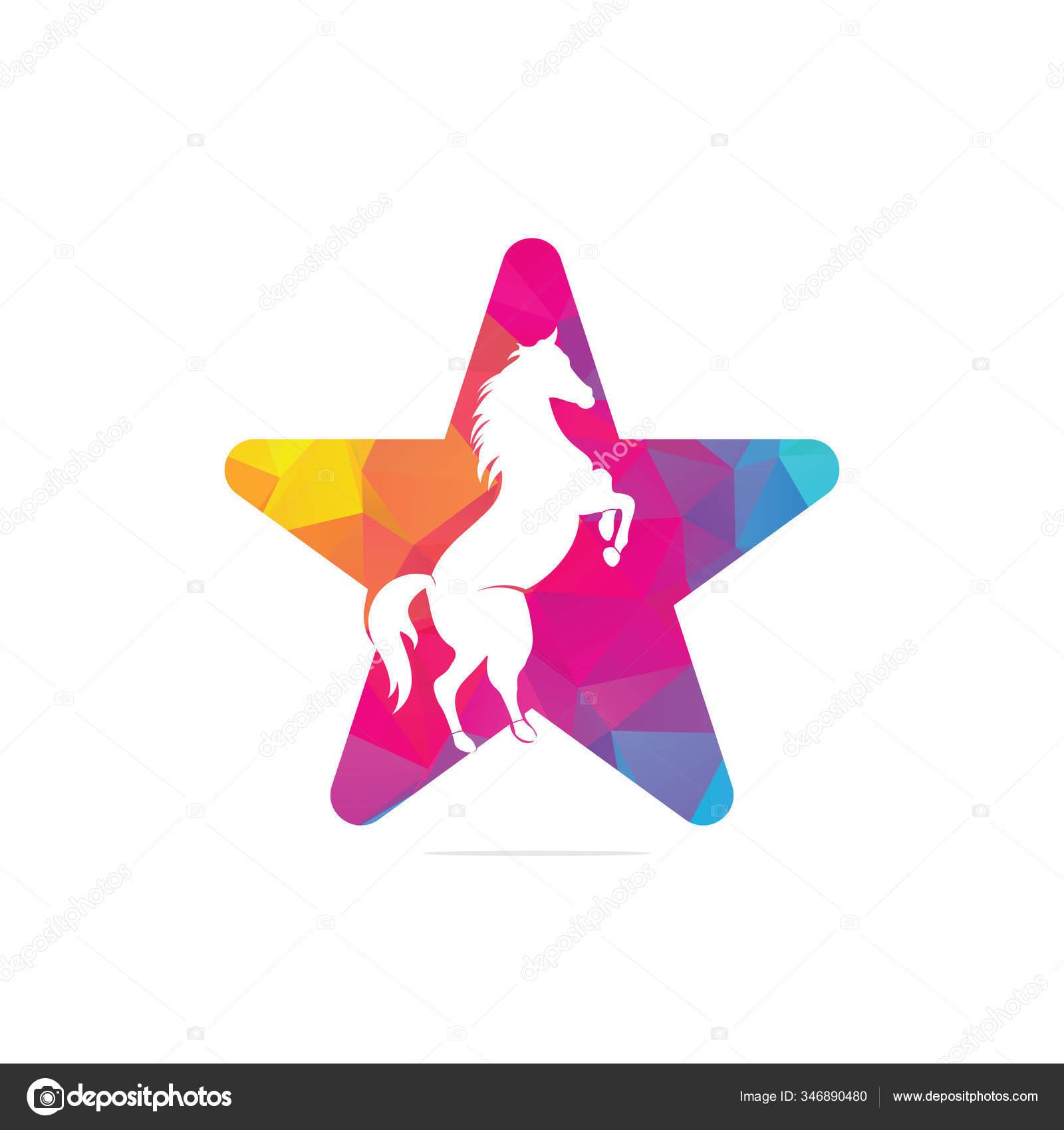 Star Horse Logo Design Wild Ideas Logo Concept Stock Vector C Umerdeartist 346890480