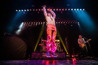 UTRECHT, NETHERLANDS - FEBRUARY 13, 2020: Mika performance at TivoliVredenburg music complex.