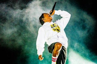 16-18 augustus 2019. Lowlands Festival, The Netherlands. Concert of ASAP Rocky