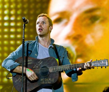 Coldplay at Rock Werchter Festival, 2011, Belgium