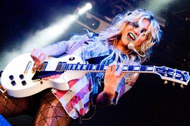 Kesha at Rock Werchter, 2011
