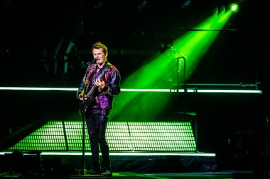 Rock band Muse at Ziggo Dome on September 12, 2019 in Amsterdam, Netherlands