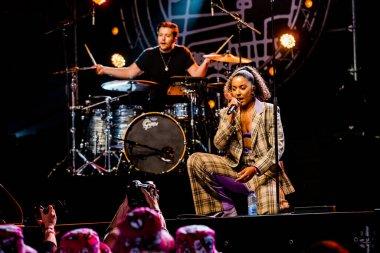 15-17 June 2018. Pinkpop Festival, Landgraaf, The Netherlands. Concert of Grace Carter