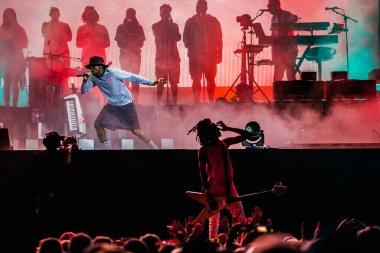 27-30 June 2019. Rock Werchter Festival, Belgium. Concert of Gorillaz