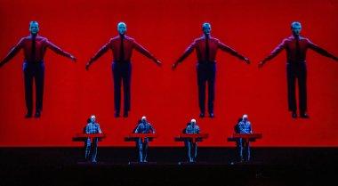Kraftwerk performance on best kept secret 2019