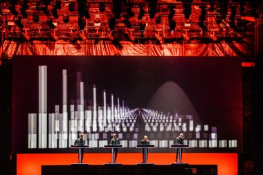 Kraftwerk performance on best kept secret 2019