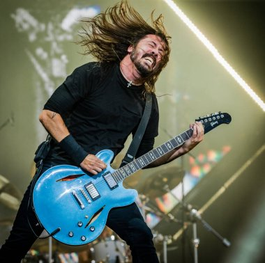15-17 June 2018. Pinkpop Festival, Landgraaf, The Netherlands. Concert of Foo Fighters