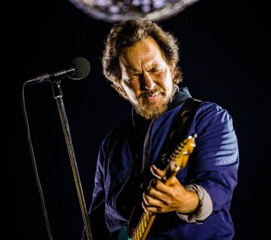 Pearl Jam band at Ziggo Dome on June 13, 2018 in Amsterdam, Netherlands