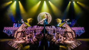 Within Temptation band at AFAS on November 23, 2018 in Amsterdam, Netherlands