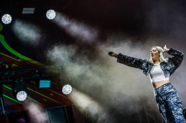 8-10 June 2019. Pinkpop Festival, Landgraaf, The Netherlands. Concert of Anne-Marie