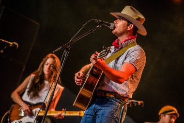 Once In A Blue Moon Festival Amsterdamse Bos, Amsterdam. The Netherlands August 25th 2018. Concert of Sam Outlaw