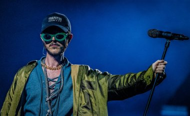 Oscar and the Wolf at AFAS on April 14, 2017 in Amsterdam, Netherlands