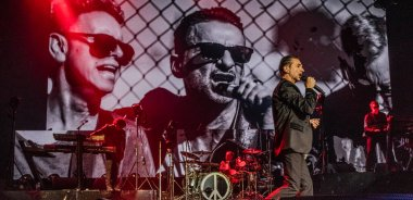 Depeche Mode perform in Amsterdam, Ziggo Dome