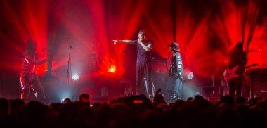 Gorillaz performance in Amsterdam, Ziggo Dome