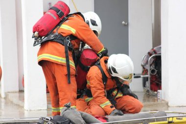 Seremban, September 29, 2018. The Competence Skills Competition for firefighters was held in Seremban.