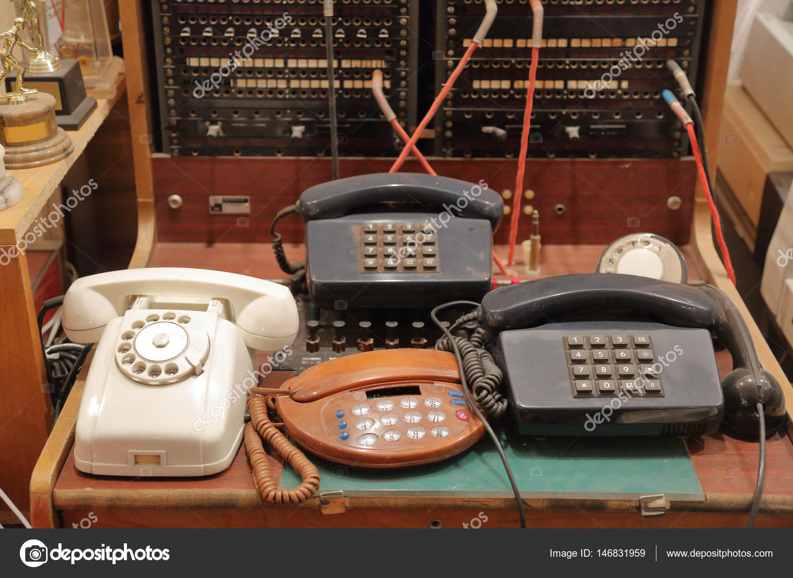 Retro communication devices stock photo ironstuff 146831959 old vintage communication apparatus for connection and information transfer photo by ironstuff freerunsca Gallery