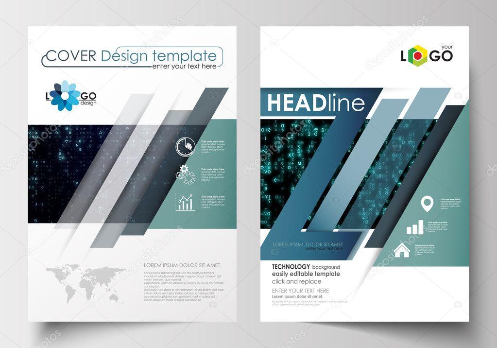 Templates for brochure, magazine, flyer, booklet. Cover design ...
