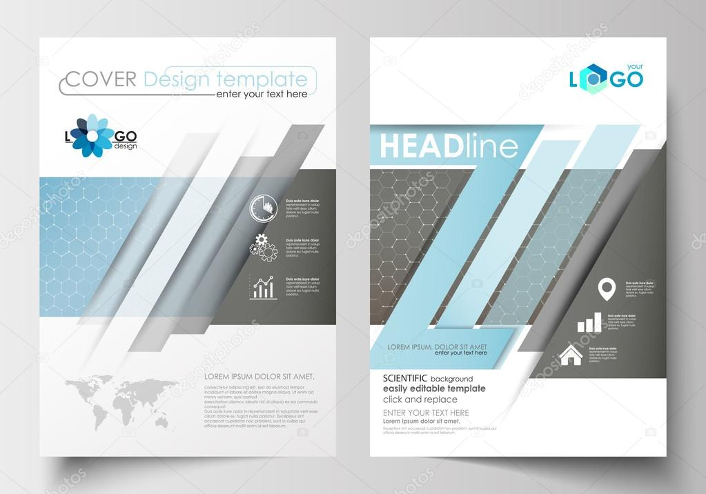 templates for brochure magazine flyer booklet cover template