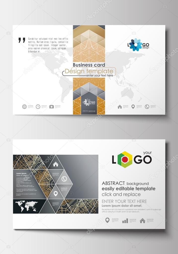 Visitenkarten Vorlagen Design Vorlage Leicht Bearbeitbare