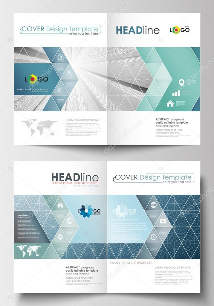 Business Templates For Brochure Magazine Flyer Booklet Annual