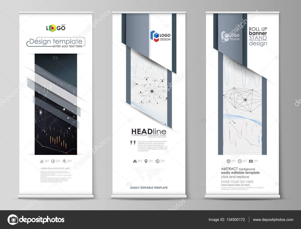 Pull up banner template indesign prontos : 2018