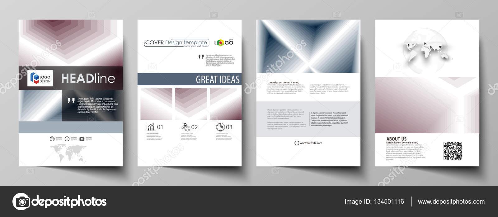 Business-Vorlagen für Zeitschrift, Broschüre, Geschäftsbericht ...