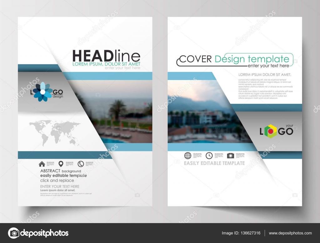 Plantillas de negocio para folleto, flyer, folleto, revista. Diseño ...