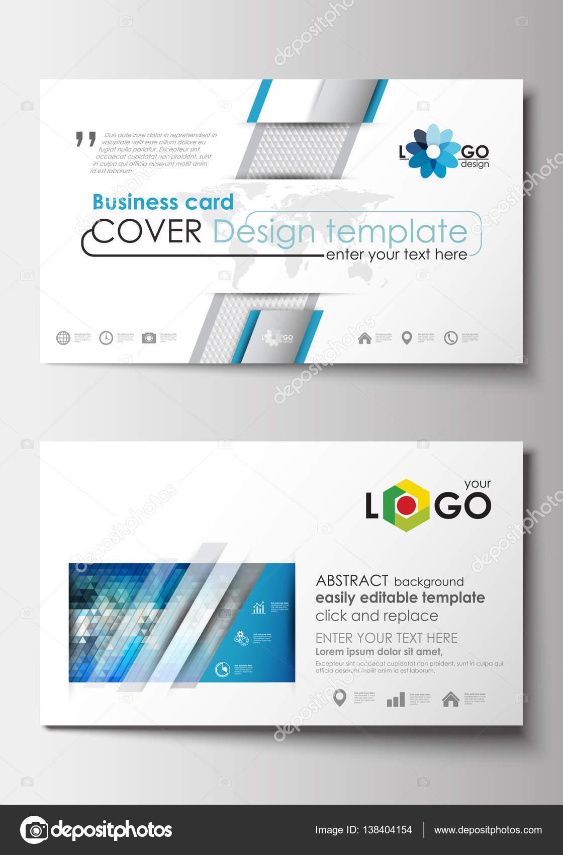 Visitenkarten Vorlagen Cover Design Vorlage Leicht
