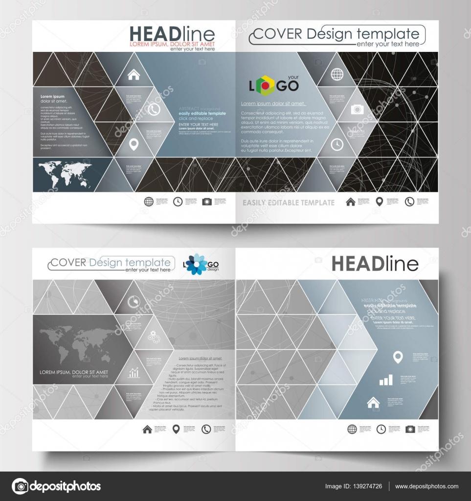 Business-Vorlagen für Square design Magazin, Broschüre, Flyer ...