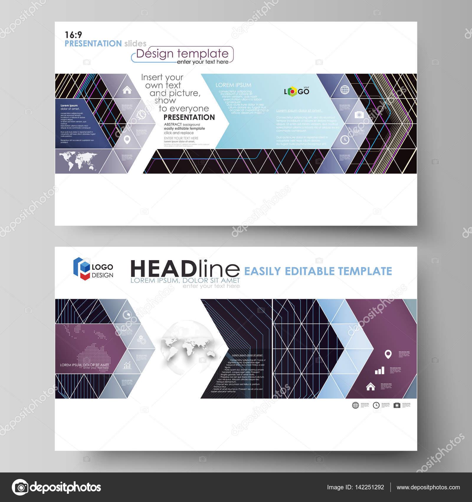 Plantillas negocios en Hd formato para diapositivas de presentación ...