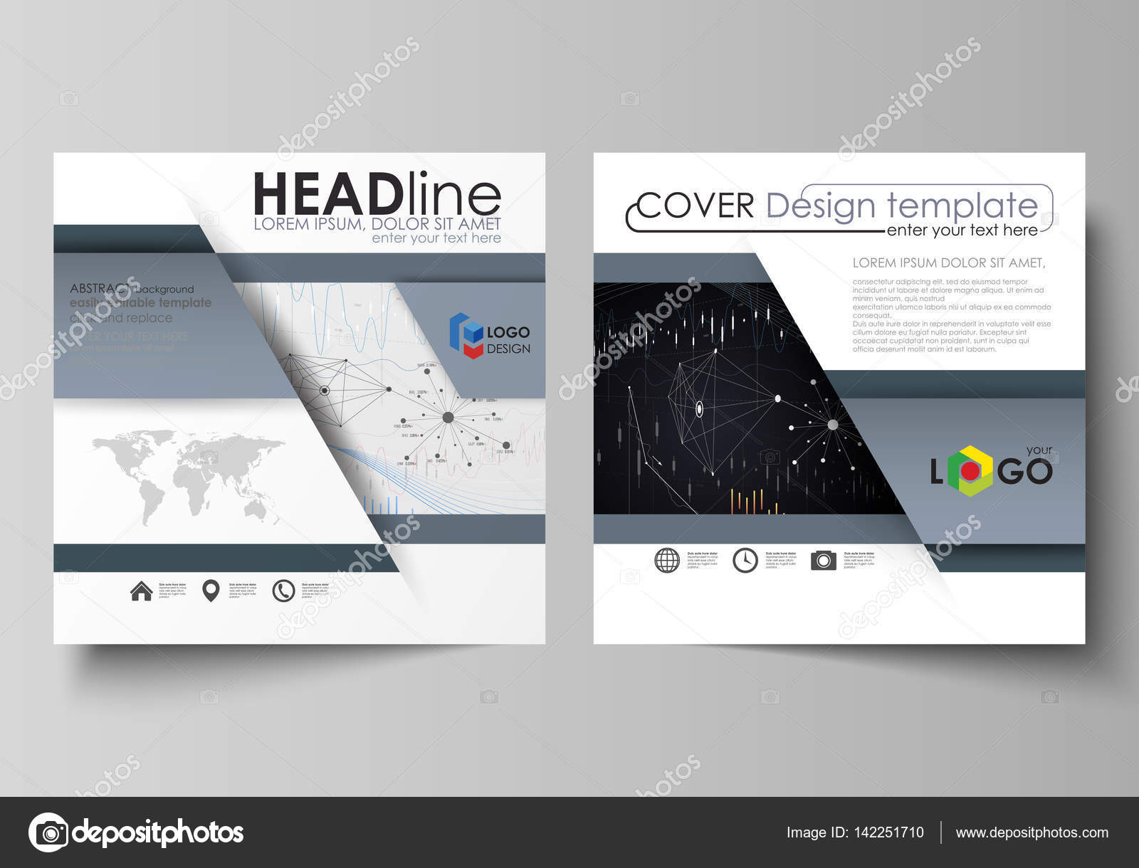 Plantillas de negocio para Plaza diseñan de brochure, flyer, informe ...