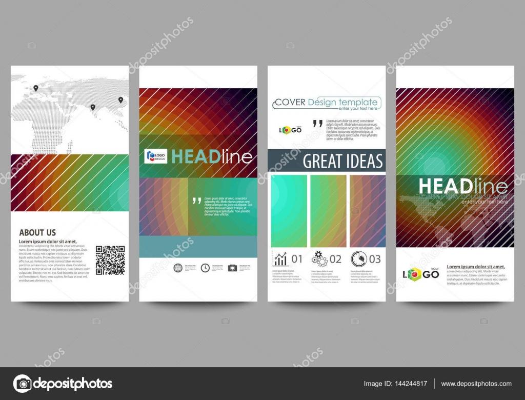 Sistema de flyers, banners moderno. Plantillas de negocios. Cubrir ...