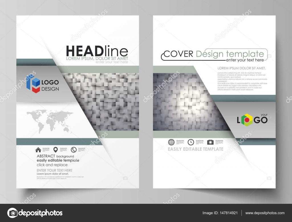 business templates for brochure magazine flyer report cover