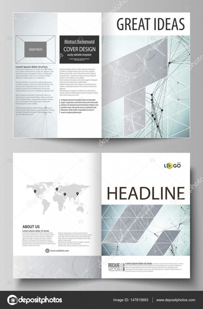 Business-Vorlagen für Bi Falten Broschüre, Flyer, Bericht. Design ...