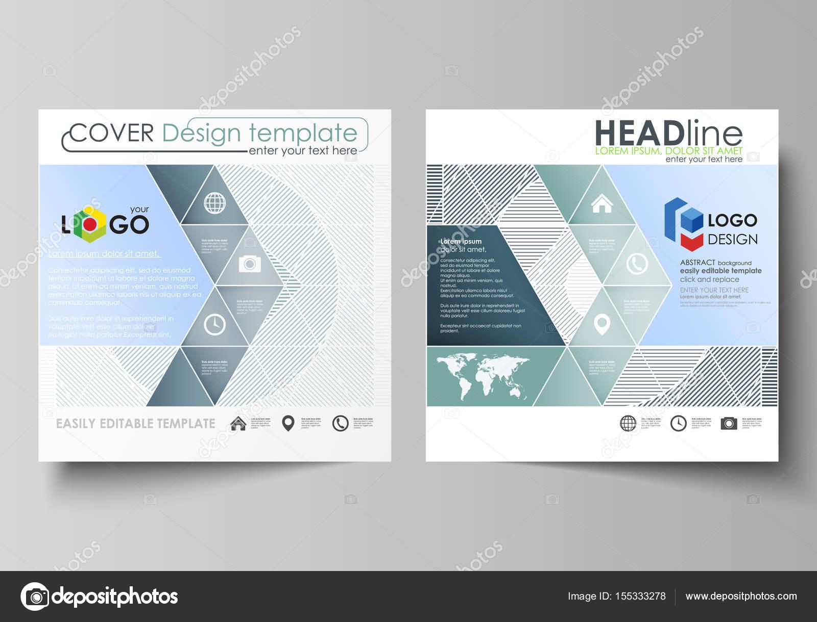 Business-Vorlagen für Square design Broschüre, Flyer, Broschüre ...