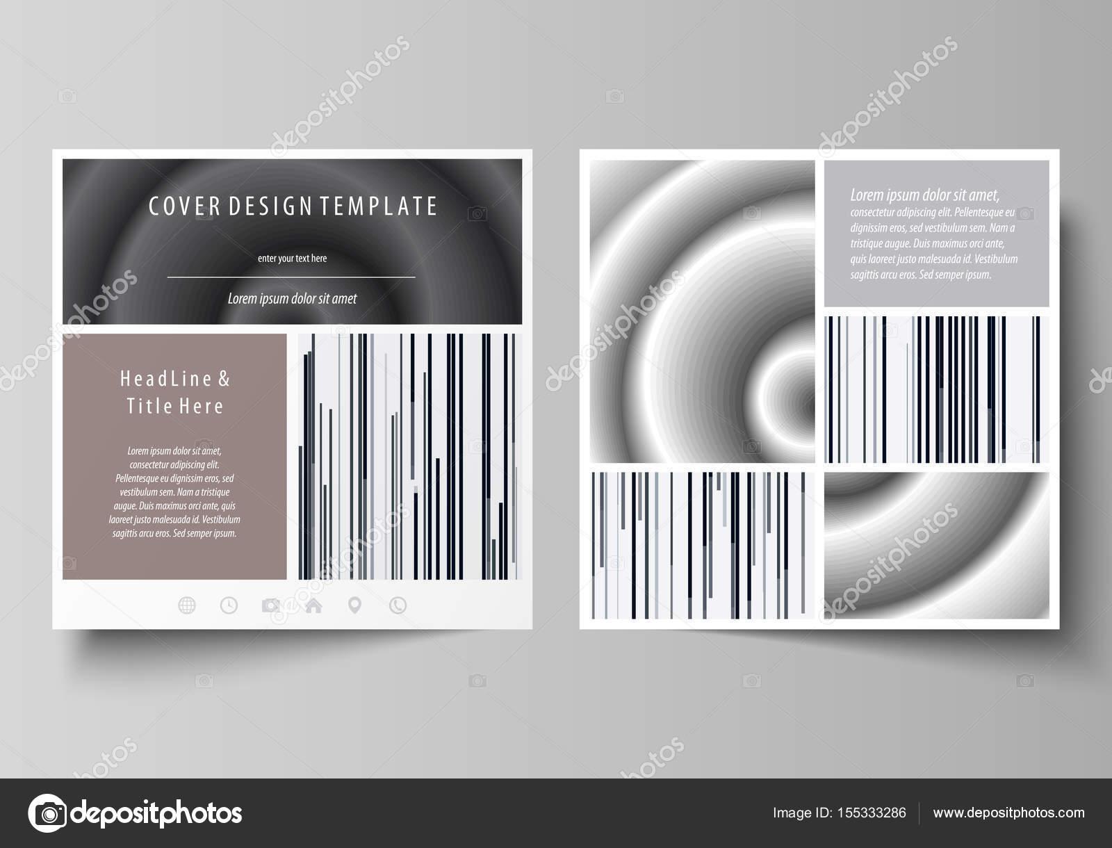 Business-Vorlagen für die Platzgestaltung Broschüre, Magazin, Flyer ...