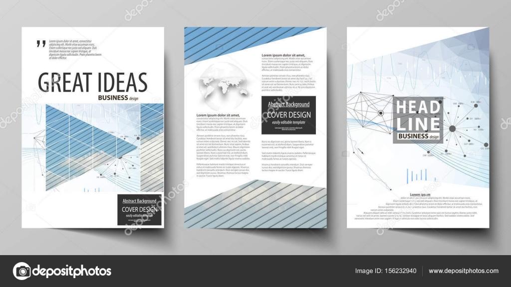 Business-Vorlagen für Flyer, Broschüre, Geschäftsbericht. Design ...