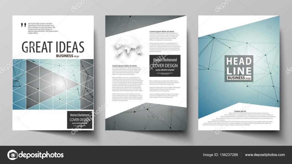 de negocio para folleto, revista, folleto, folleto, informe. Cubrir ...