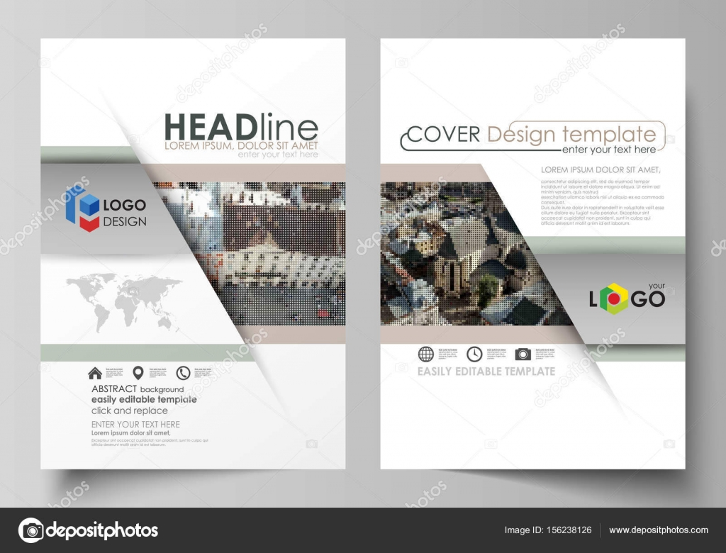 Business-Vorlagen für Broschüre, Magazin, Flyer, berichten. Design ...