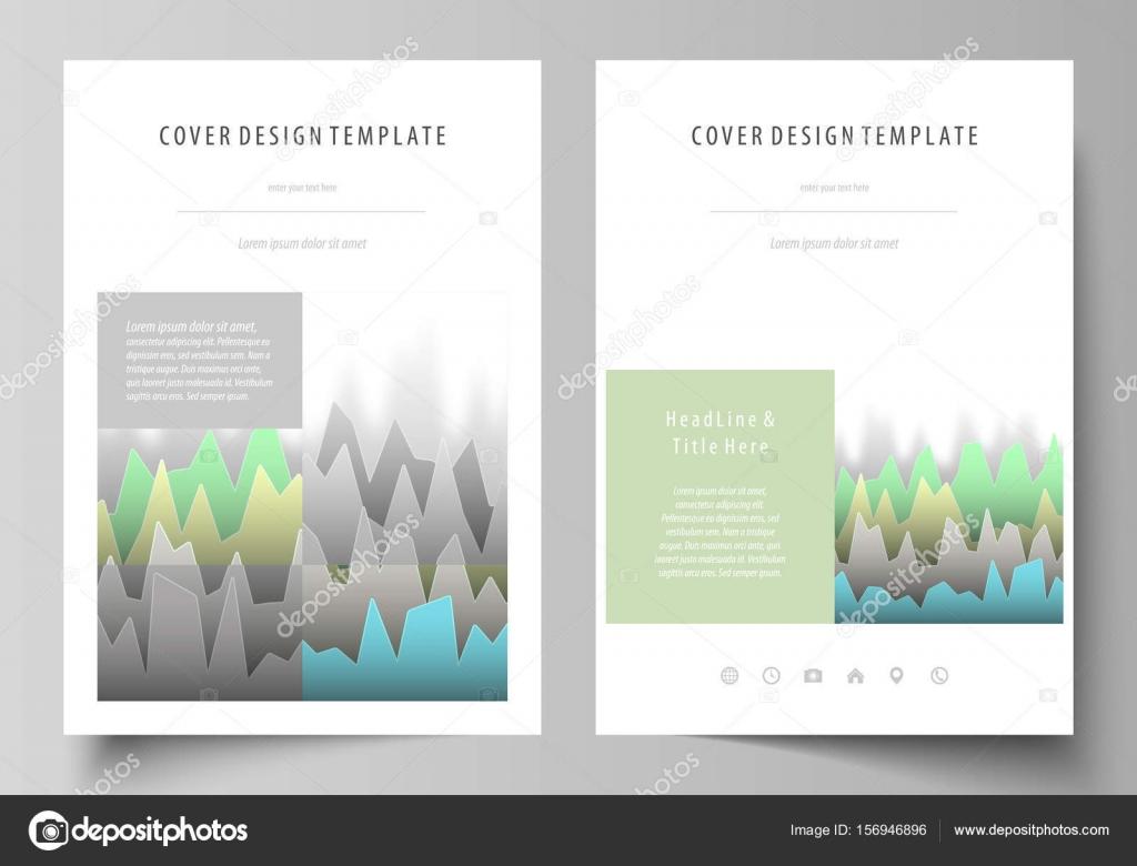 Die Vektor-Illustration der bearbeitbaren Gestaltung des A4-Format ...