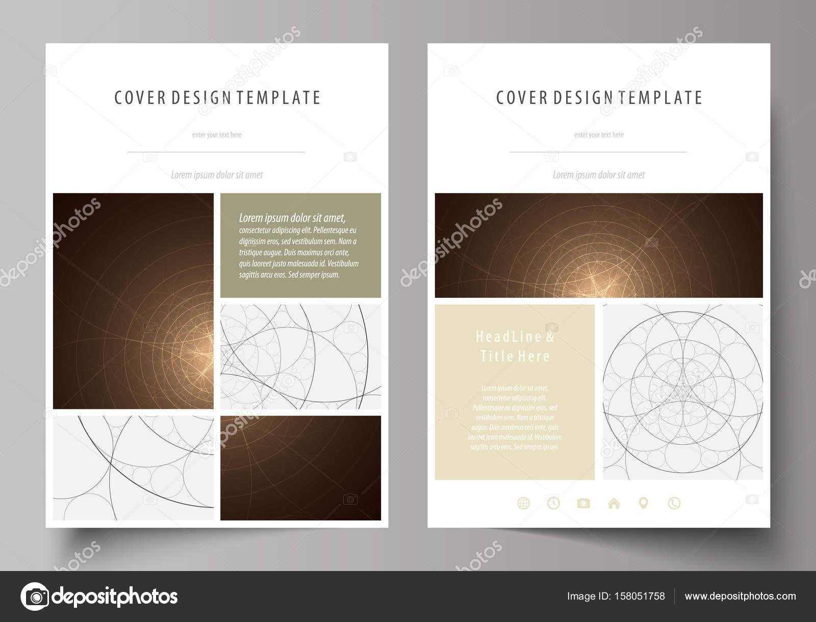Business-Vorlagen für Broschüre, Flyer, Broschüre. Design-Vorlage ...