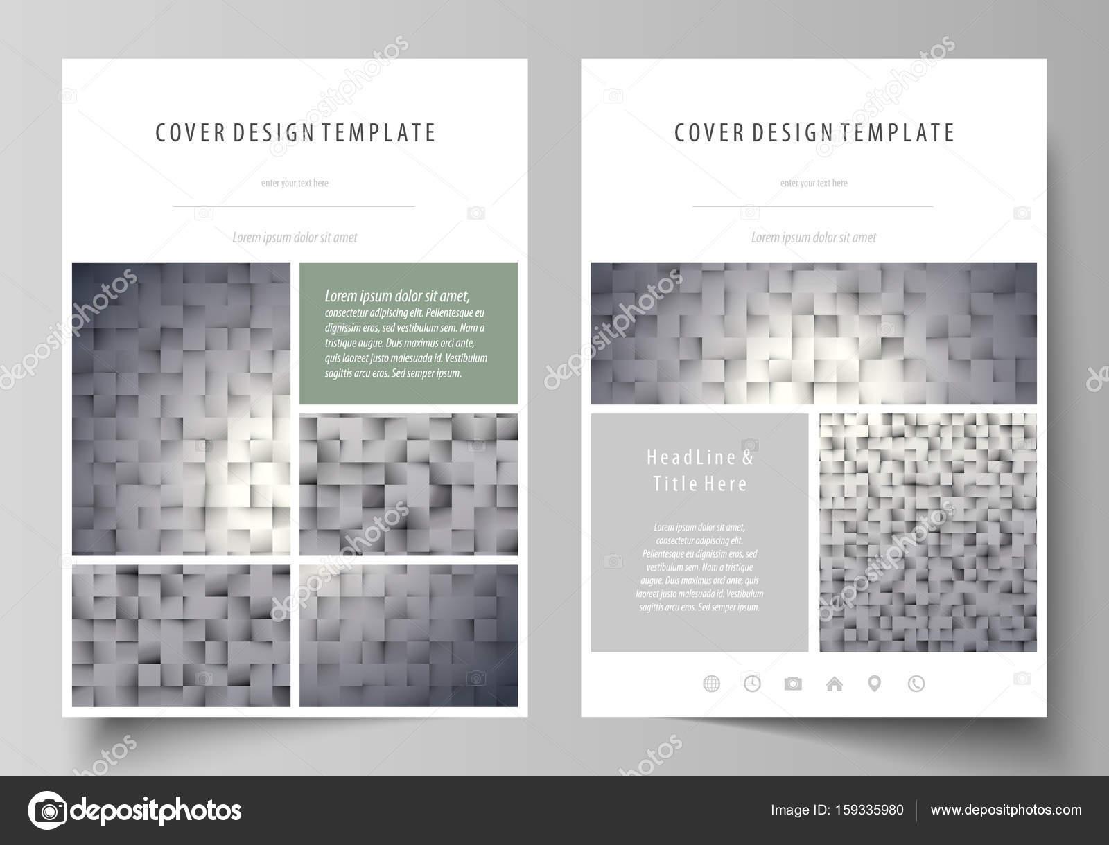 Patrón hecho de cuadrados, fondo gris de estilo geométrico. Textura ...