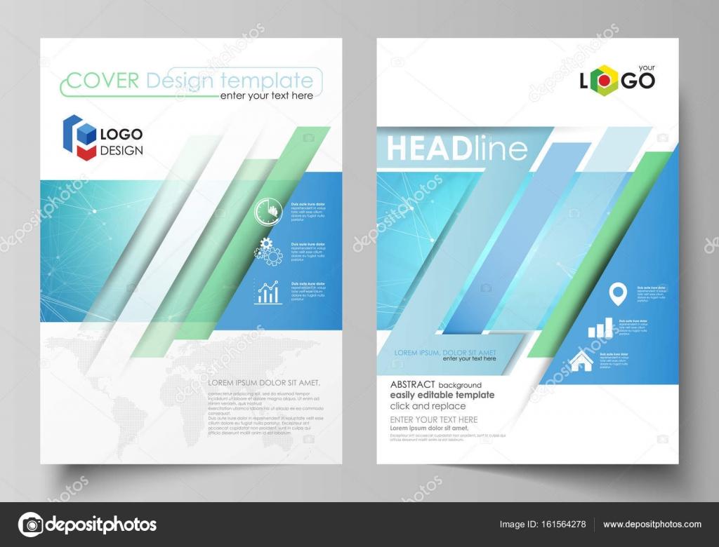 Plantillas de negocio para folleto, revista, folleto, folleto ...