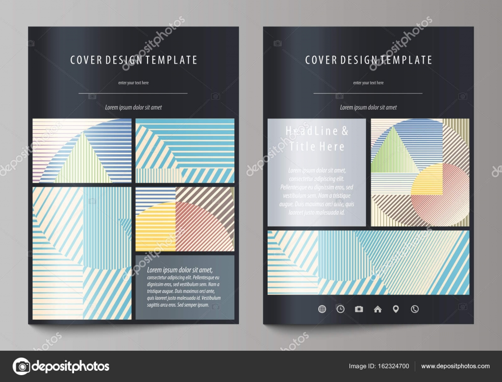 Business templates for brochure, magazine, flyer, booklet or report ...