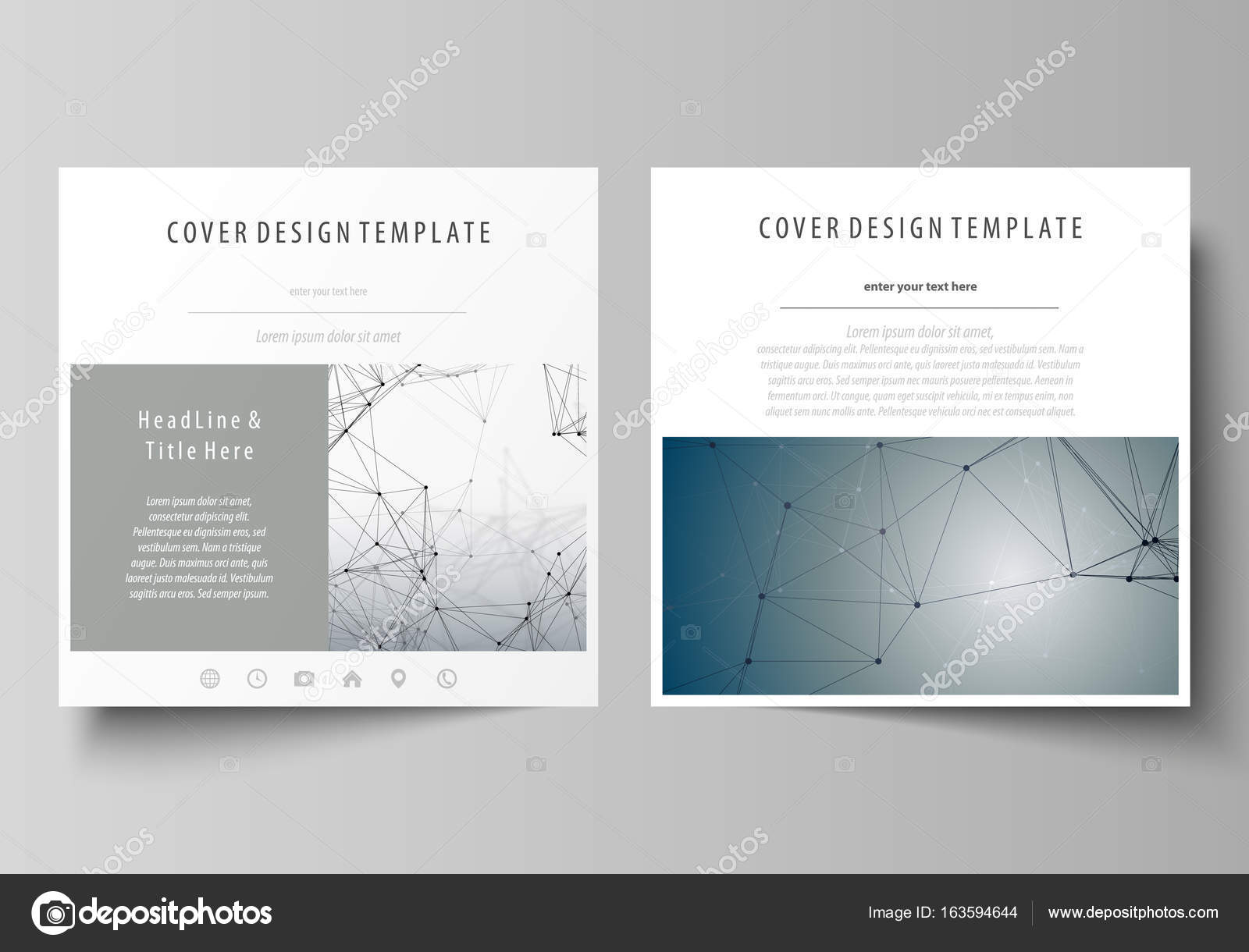 Business templates for square design brochure magazine flyer business templates for square design brochure magazine flyer booklet or annual report leaflet cover abstract flat layout easy editable vector saigontimesfo